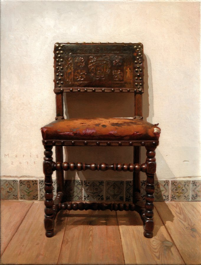 Chair, painting by Jan Maris
